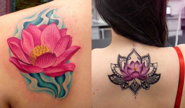 Blooming Lotus Tattoos