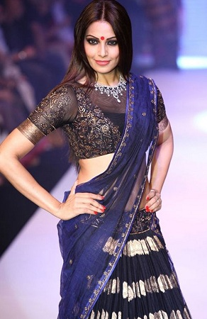 Boat Neck Blouse By Bipasha Basu