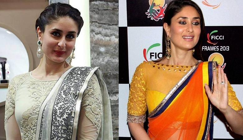 Boat Neck Blouse By Kareena Kapoor Khan