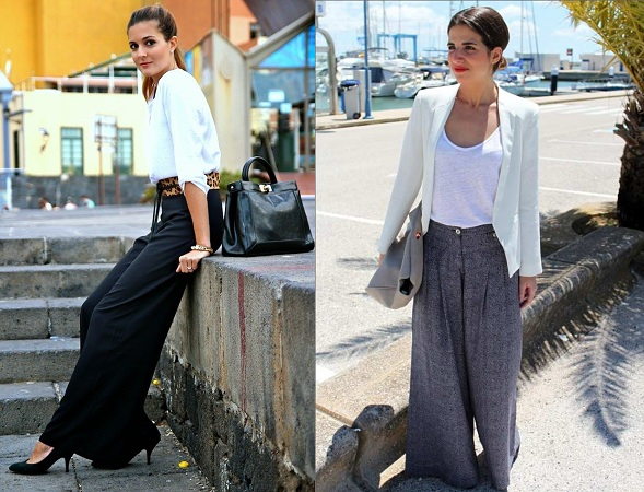 Formal Look With Palazzo Pants