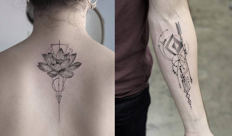 Geometric Shape Tattoos