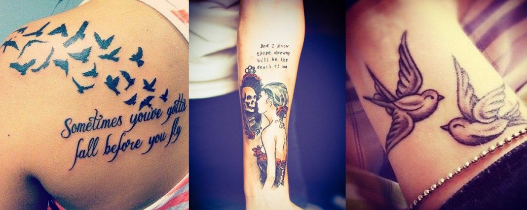 Impressive Girl Tattoo Designs