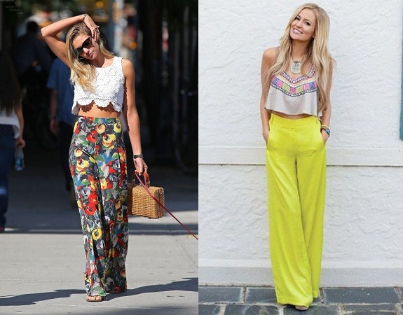 Palazzo Pants With Tank Tops