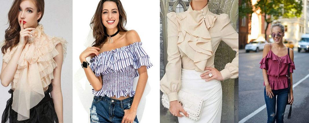 Ruffled Tops
