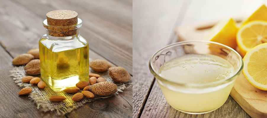 Almond Oil Lemon Juice For Black Hair