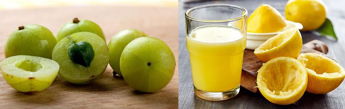 Amla Lemon Mix For Black Hair
