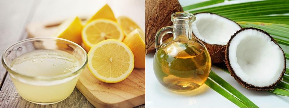 Coconut Oil Lemon Juice For Black Hair