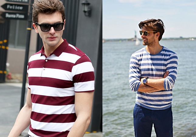 Complementary Colors In Stripe For Men