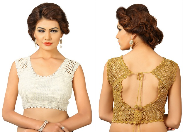 Crochet Saree Blouses