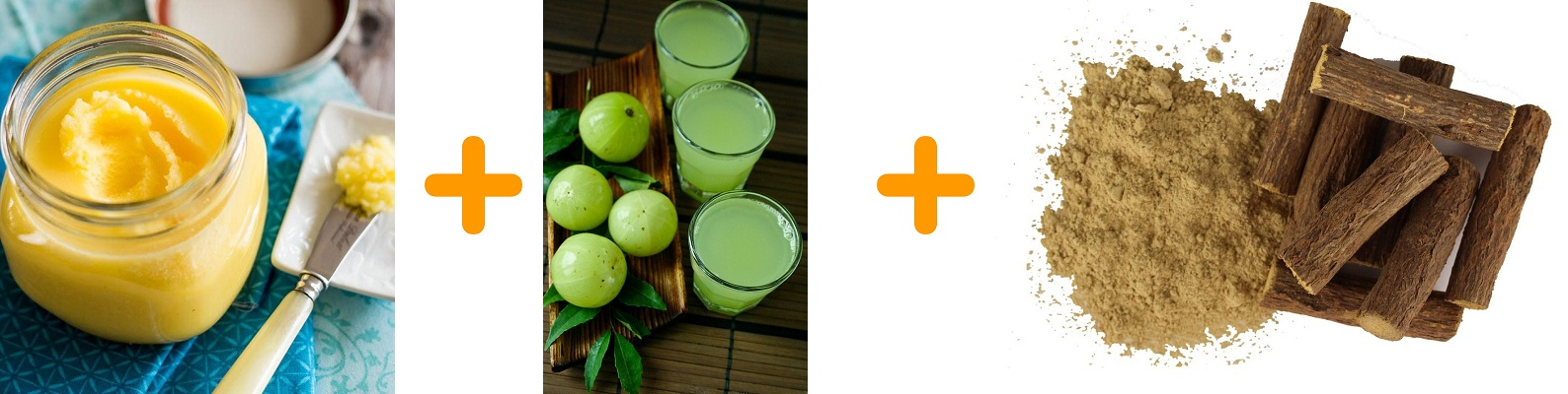 Ghee Amla Mulethi Mix For Black Hair