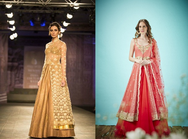 Lehengas With Slit