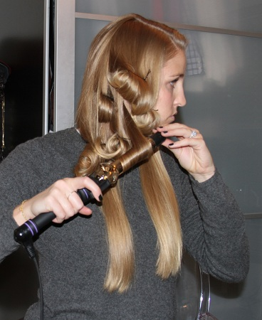 Make A Use Of Curl Iron