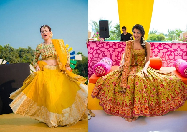 Offbeat Shades Lehenga