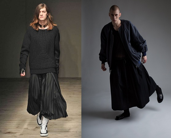 Oversized Men's Skirt