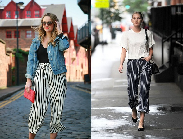 Pants With Pinstripes