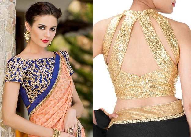 Party Wear Saree Blouse