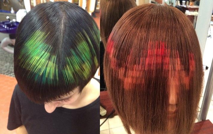 Pixel Hair Color