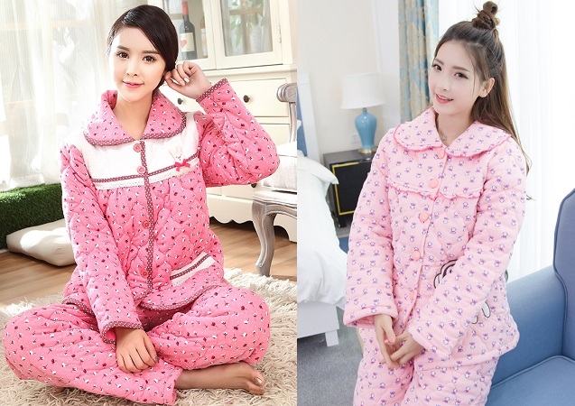 Quilted Nightwear