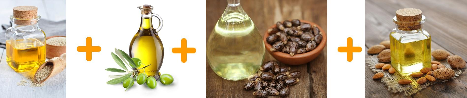 Sesame Oil Olive Oil Castor Oil Almond Oil For Black Hair