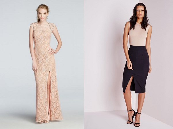 Slit Skirts For Formal Events