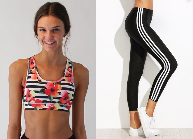 Sports Wear Stripes Clothes