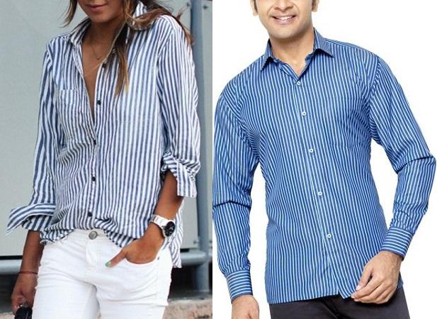 Stripe Shirt For Women And Men