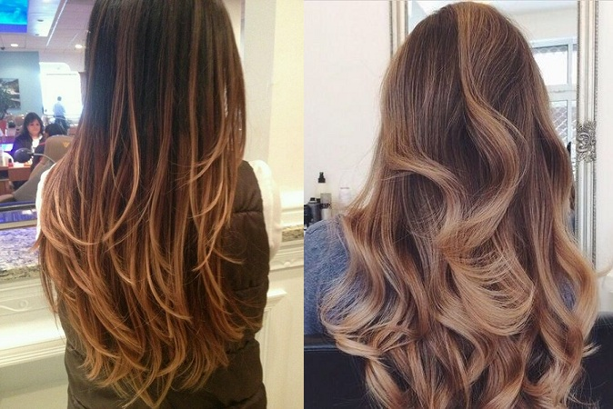 Subtle Ombre Hair Color