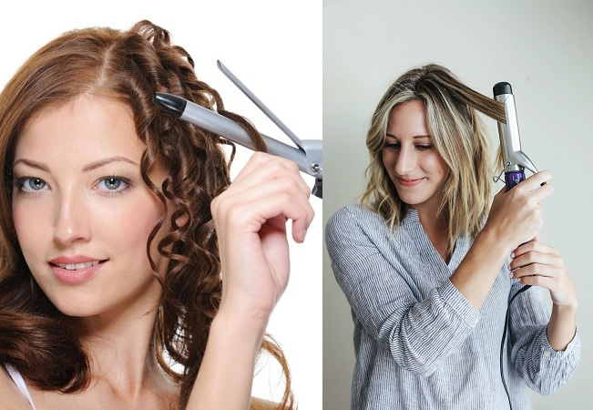 Use Curling Hair Iron