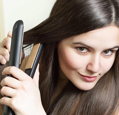 Use Hair Straightener