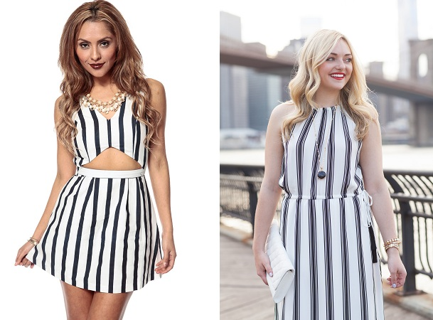 Vertical Stripes Dress