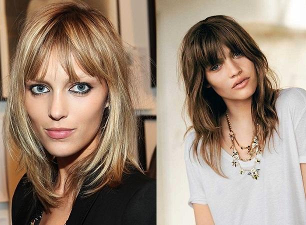 Bangs Haircuts For Thin Face