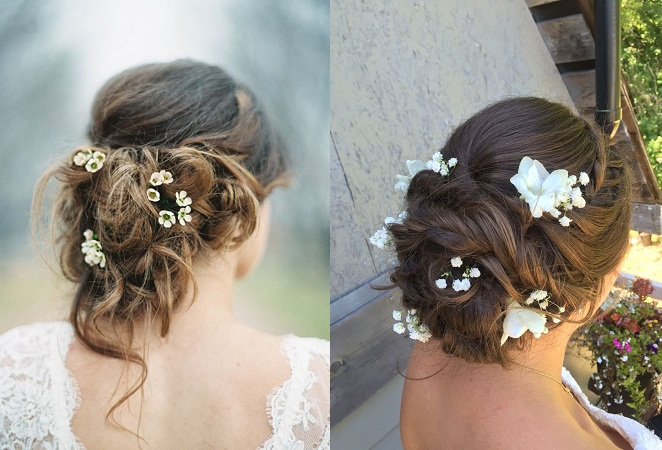 Boho Undone Up-Do