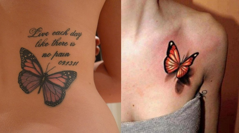 Butterfly Symbol Tattoo