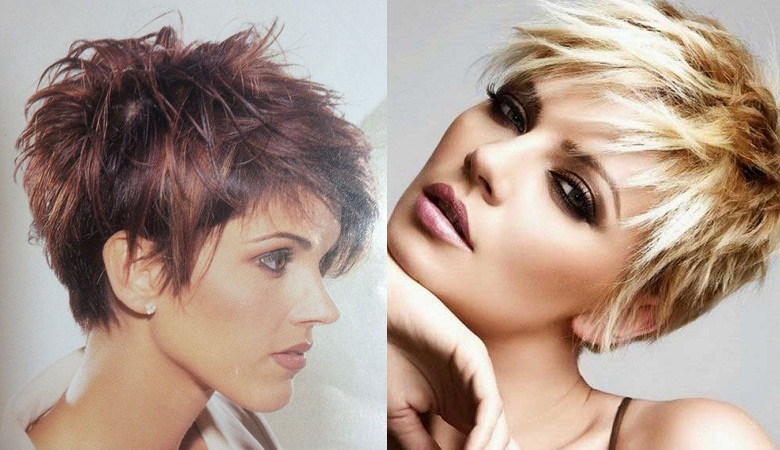 Choppy Pixie Cut