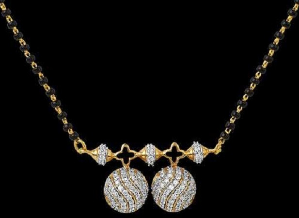 Cup Pendant Mangalsutra
