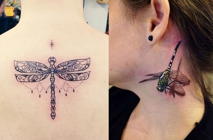 Dragonflies Tattoo