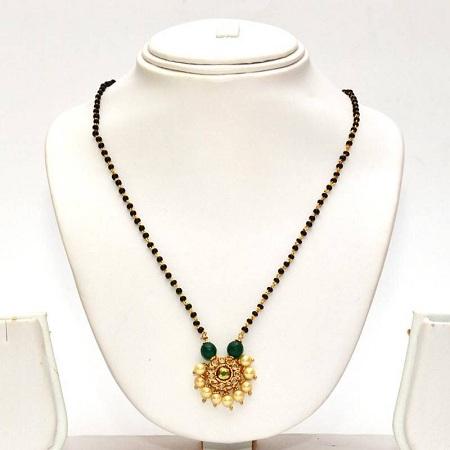 Emerald Mangalsutra