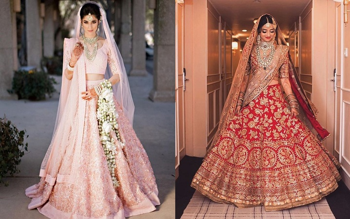 Indian Bridal Lehenga Gown