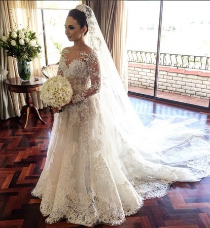 Romantic Lace Gown