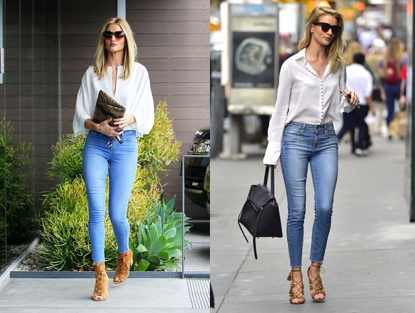 Skinny Jeans With Top