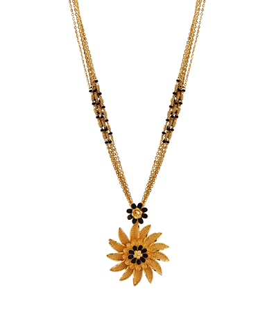 Sunflower Mangalsutra Designs