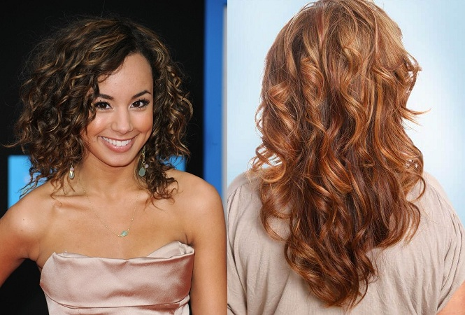 Toffee curls