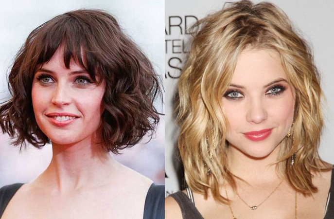Wave Hairstyle For Thin Face