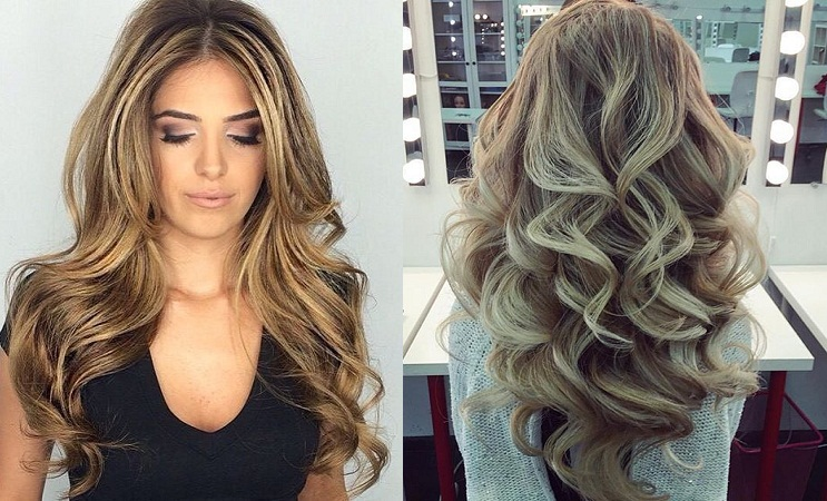 Wavy Bouncy Flowy Hair