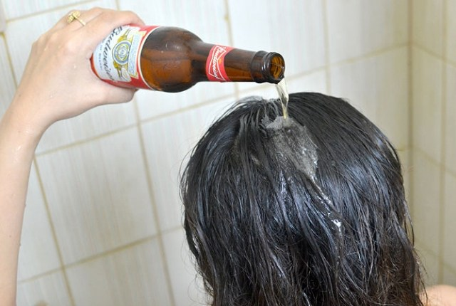 Beer Treatment For Dry Hair
