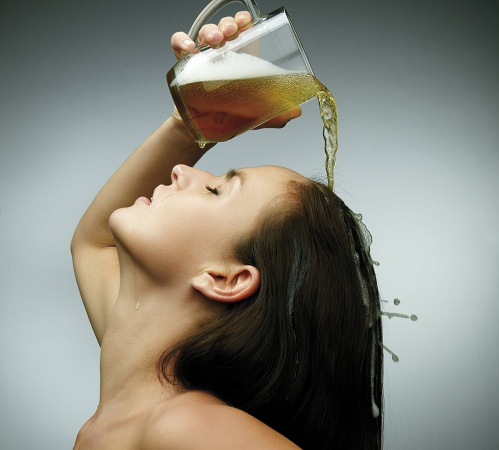 Conditioning Of Hair With Use Of Beer Meaning