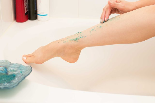 Exfoliate Before Waxing