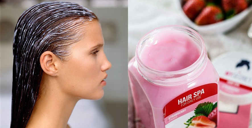 Strawberry Hair Spa