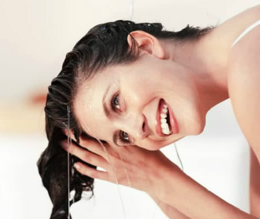 Wash Off Hair With Regular Tap Water