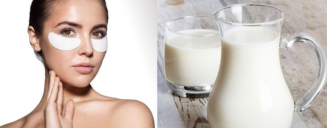Cold Milk For Dark Circles